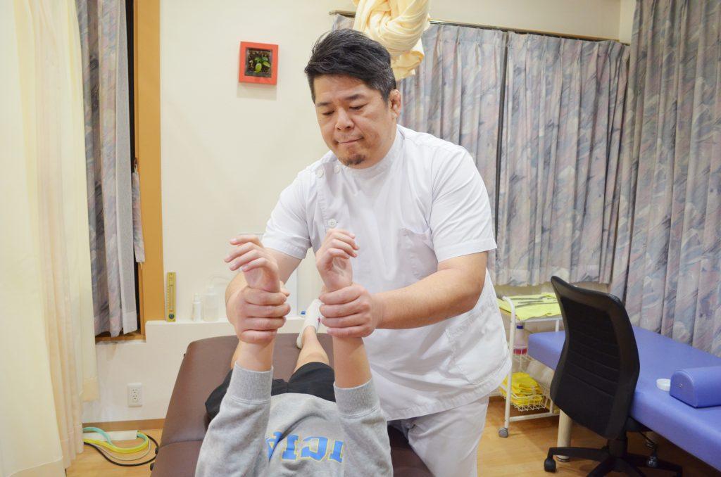 手首の検査
