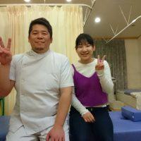 指の腱鞘炎・肩こりにお悩みだった金沢市にお住いの学生Y・A様