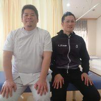 金沢市にお住いのスポーツトレーナー 小松 竜一様